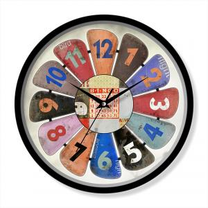 Retro design shabby wall clock