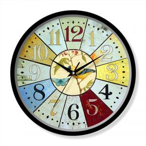 Wall art decorative clock