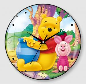 Cartoon Design Wall Clock